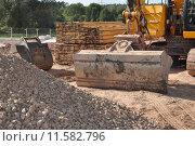 Купить «shovel construction site dredger baggern», фото № 11582796, снято 20 марта 2019 г. (c) PantherMedia / Фотобанк Лори