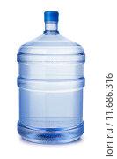 Пластиковая бутыль воды на белом фоне. Стоковое фото, фотограф Антон Стариков / Фотобанк Лори