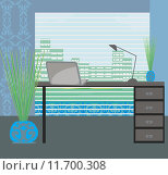 Купить «elegant office,interior, vector illustration», иллюстрация № 11700308 (c) PantherMedia / Фотобанк Лори