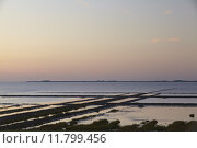 Купить «Norderfriedrichskoog (Germany) - Sunset over the North Sea», фото № 11799456, снято 15 октября 2018 г. (c) PantherMedia / Фотобанк Лори