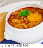 Купить «vegetable soup mulligan goulash potato», фото № 11809104, снято 16 июня 2019 г. (c) PantherMedia / Фотобанк Лори