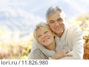 Купить «Senior couple embracing each other in countryside», фото № 11826980, снято 10 января 2019 г. (c) PantherMedia / Фотобанк Лори