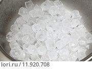 Купить «Ice cubes», фото № 11920708, снято 27 марта 2019 г. (c) PantherMedia / Фотобанк Лори