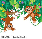 Купить «Image with jungle theme 6», иллюстрация № 11932592 (c) PantherMedia / Фотобанк Лори