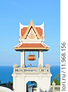 Купить «Campanile of thai temple», фото № 11968156, снято 18 октября 2018 г. (c) PantherMedia / Фотобанк Лори