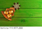 Купить «green christmas snow xmas material», фото № 11977260, снято 22 марта 2019 г. (c) PantherMedia / Фотобанк Лори