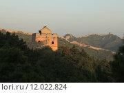 Купить «sunset china sunrise chinesische mauer», фото № 12022824, снято 23 апреля 2019 г. (c) PantherMedia / Фотобанк Лори