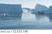 Купить «Arctic landscape in Greenland», фото № 12033140, снято 16 августа 2018 г. (c) PantherMedia / Фотобанк Лори