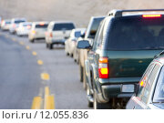 Купить «traffic jam, Arizona, USA», фото № 12055836, снято 26 марта 2019 г. (c) PantherMedia / Фотобанк Лори