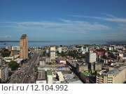 city town africa congo afrikanische. Стоковое фото, фотограф Anett Shabani / PantherMedia / Фотобанк Лори