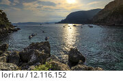 Купить «Cap d'ail, France», фото № 12116152, снято 24 июня 2019 г. (c) PantherMedia / Фотобанк Лори