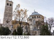 Купить «church temple steeple beadhouse cologne», фото № 12172860, снято 24 марта 2019 г. (c) PantherMedia / Фотобанк Лори