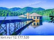 Купить «Clubhouse on Lake Tahoma», фото № 12177520, снято 23 июля 2018 г. (c) PantherMedia / Фотобанк Лори