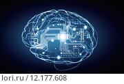 Купить «Human mind», иллюстрация № 12177608 (c) Sergey Nivens / Фотобанк Лори