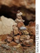 Купить «symbol stone rest stack strength», фото № 12183860, снято 24 января 2019 г. (c) PantherMedia / Фотобанк Лори