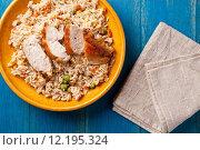 Купить «Chicken Meal», фото № 12195324, снято 22 мая 2018 г. (c) PantherMedia / Фотобанк Лори