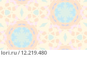 Купить «Seamless Muted Geometric Shapes», иллюстрация № 12219480 (c) PantherMedia / Фотобанк Лори