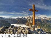 Купить «mountains fog alpenpanorama berchtesgaden bergnebel», фото № 12228608, снято 10 декабря 2018 г. (c) PantherMedia / Фотобанк Лори