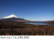 Купить «Mt. Fuji from Yamanaka lake», фото № 12240456, снято 18 октября 2018 г. (c) PantherMedia / Фотобанк Лори