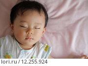 Купить «Sleeping baby (Japanese boy)», фото № 12255924, снято 19 октября 2019 г. (c) PantherMedia / Фотобанк Лори