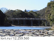 Купить «Isuzu river and Uji bridge in Ise, Japan», фото № 12259560, снято 22 июля 2019 г. (c) PantherMedia / Фотобанк Лори