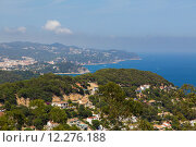 Купить «View of the Costa Brava over the lagoons», фото № 12276188, снято 26 марта 2019 г. (c) PantherMedia / Фотобанк Лори