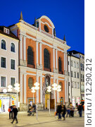 Купить «Burgersaalkirche Munich», фото № 12290212, снято 26 марта 2019 г. (c) PantherMedia / Фотобанк Лори