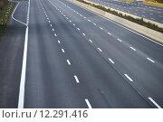Купить «empty highway infrastructure motorway void», фото № 12291416, снято 24 августа 2019 г. (c) PantherMedia / Фотобанк Лори