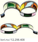 Купить «Colored Filmstrip», иллюстрация № 12298408 (c) PantherMedia / Фотобанк Лори