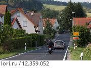 Wiesenfeld, Germany, Landstrasse by Wiesenfeld (2013 год). Редакционное фото, агентство Caro Photoagency / Фотобанк Лори