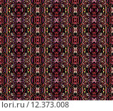 Купить «Abstract geometric background, seamless ornate ellipse pattern», иллюстрация № 12373008 (c) PantherMedia / Фотобанк Лори
