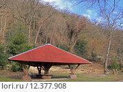 Купить «hut lodge refuge triangular heidelberg», фото № 12377908, снято 22 апреля 2019 г. (c) PantherMedia / Фотобанк Лори