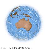 Купить «Australia on planet Earth», фото № 12410608, снято 19 октября 2018 г. (c) PantherMedia / Фотобанк Лори