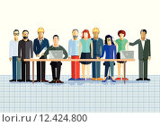 Купить «people business design human work», иллюстрация № 12424800 (c) PantherMedia / Фотобанк Лори