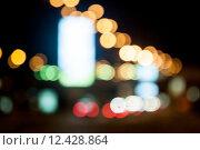 Купить «City night background with boke», фото № 12428864, снято 23 июля 2018 г. (c) PantherMedia / Фотобанк Лори