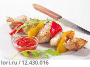 Купить «Shish kebab», фото № 12430016, снято 13 декабря 2017 г. (c) PantherMedia / Фотобанк Лори