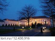 Купить «city berlin blauer himmel bundespr», фото № 12430916, снято 19 октября 2019 г. (c) PantherMedia / Фотобанк Лори
