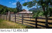 Купить «A barn in the country.», фото № 12456528, снято 20 февраля 2020 г. (c) PantherMedia / Фотобанк Лори
