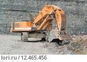 Купить «stone shovel mining quarry dredger», фото № 12465456, снято 24 марта 2019 г. (c) PantherMedia / Фотобанк Лори