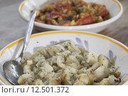 Купить «pulp of grilled aubergines», фото № 12501372, снято 23 апреля 2019 г. (c) PantherMedia / Фотобанк Лори