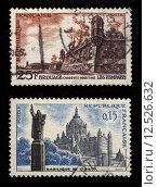 Купить «French Postage Stamps», фото № 12526632, снято 19 июля 2019 г. (c) PantherMedia / Фотобанк Лори