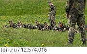 Frankenberg, Germany, recruits basic training company of Fernmeldebatallions 701 (2007 год). Редакционное фото, агентство Caro Photoagency / Фотобанк Лори