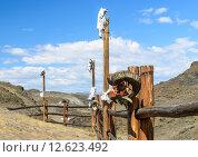 Купить «Алдын-Булак, этнокультурный комплекс», фото № 12623492, снято 1 августа 2015 г. (c) Вячеслав Зеленин / Фотобанк Лори