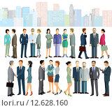 Купить «woman people business design human», иллюстрация № 12628160 (c) PantherMedia / Фотобанк Лори