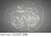 Купить «Life values», иллюстрация № 12637248 (c) Sergey Nivens / Фотобанк Лори