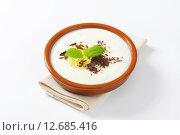 Купить «Pureed Rice Pudding with banana and chocolate», фото № 12685416, снято 23 июля 2019 г. (c) PantherMedia / Фотобанк Лори