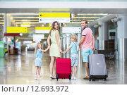 Купить «Family», фото № 12693972, снято 30 июля 2015 г. (c) Raev Denis / Фотобанк Лори