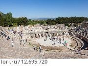Купить «Эфес, Турция. Большой театр.», фото № 12695720, снято 9 мая 2015 г. (c) Сергей Афанасьев / Фотобанк Лори