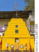 Купить «Храм Шри Баладжи в Нашике», фото № 12697288, снято 6 февраля 2015 г. (c) Вячеслав Беляев / Фотобанк Лори