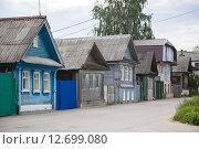 Улица Балахны (2015 год). Стоковое фото, фотограф Смирнов Андрей Владимирович / Фотобанк Лори